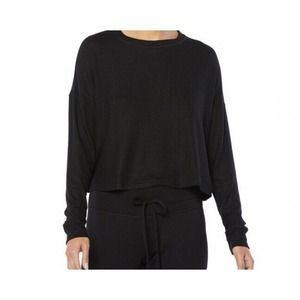 Beyond Yoga Luxe Lounger Brushed Up Cropped Top